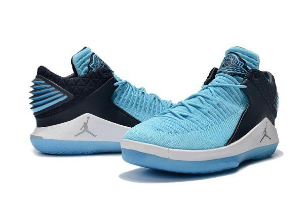 67d593da75c1 2018 Cheap Air Jordan 32 Low Win Like 82 University Blue and Whi ...