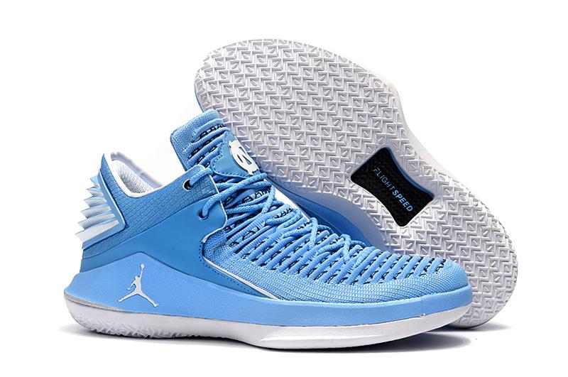 faed04e3ba8 Air Jordan 32 Low UNC PE University Blue and White For Sale  HO1665 ...