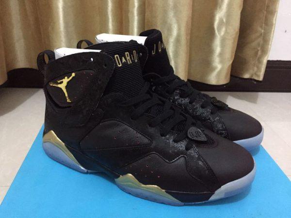 buy online b0410 8b4ef Alternate Air Jordan 7 Doernbecher Black Gold For Sale