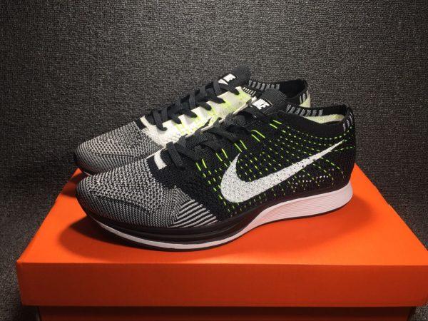 Nike Flyknit Racer Black White-White For Sale  HO1108  -  92.00 ... 00eda4a1b4f0