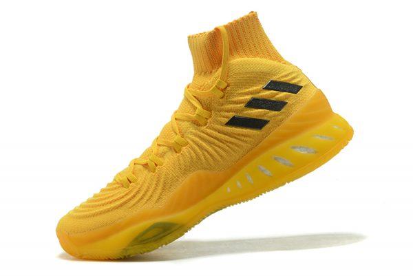 fe5cbacbdb2f adidas Crazy Explosive 2018 Cheap Primeknit Eqt Yellow and Black ...