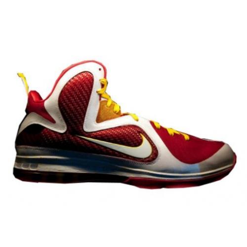 Nike Lebron 9 Fairfax Away Red White Yellow